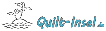 Quilt & Stick-Insel-Logo