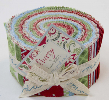 Moda Jelly Roll Serie Flurry