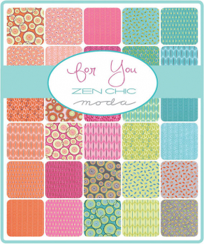 Moda Layer Cake Serie Zen Chic