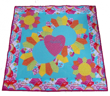 "Patchwork Instruction ""Baby quilt Amelie"""