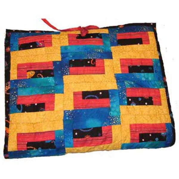 "Patchwork Sewing Instruction ""Laptop-Bag"""