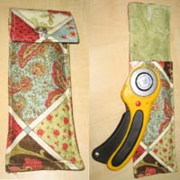 "Patchwork Sewing Instruction ""Rotary cutter bag"""