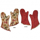 "Patchwork Sewing Instruction ""Oven gloves"""